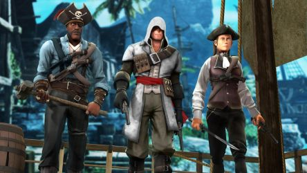 Assassins Creed IV Black Flag in TF2 style by P0nyStark
