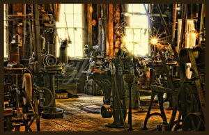 Abandoned Machine Shop - Workshop by cjheery