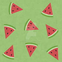 Watermelon Pattern (Singular) by Wizard-Emeraldheart