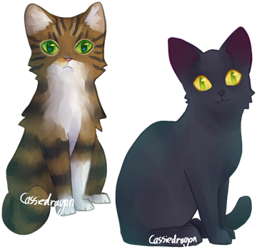 Kasey and Inky by Cassiedragon