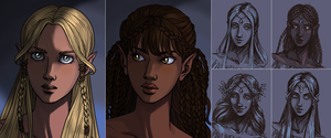 Next game: Elven Portrait by AzaleasDolls