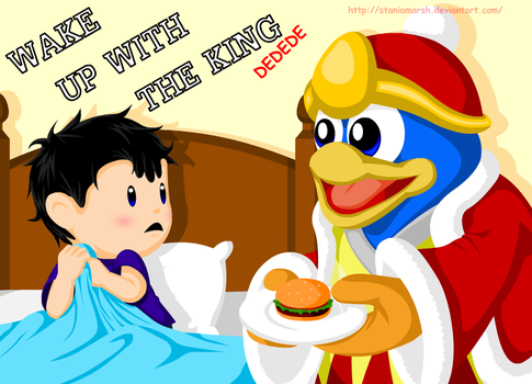 SSBB: Wake up with the king by StaniaMarsh