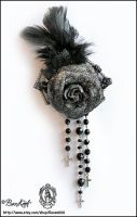 Funeral Brooch by BaziKotek