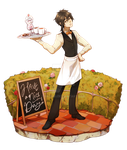 AliMei Cafe Collab by Meirii