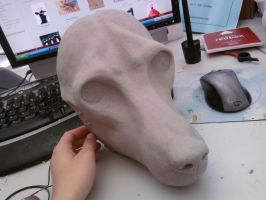 New wolf mold by FeralFacade