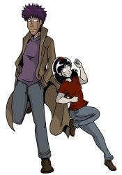 Darwin and Haley by undeadfriend