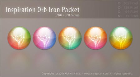 Inspiration Orb Icon Packet by basstar