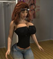 Elise Corset Extra 02 by willdial