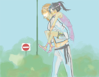 After the trainings... by ValyChan