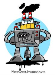 Termo robot by ZeroCartoon