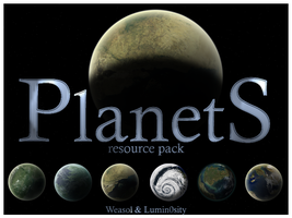 Planet resource pack 1 by Lumin0sity