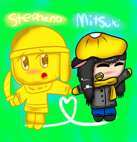 RQ number 3: Stephano and Mitsuki by Hallerpl