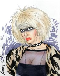 Blade Runner Pris bust sketch by mechangel2002