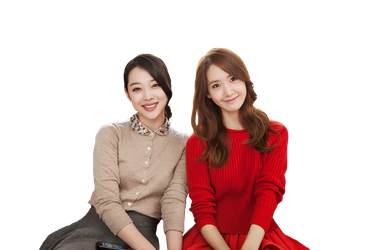 f(x) Sulli and SNSD YoonA Cutout by Sweetgirl8343