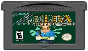 Cartouche BOTW Game Boy Advance by LOrdalie