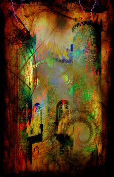 Tease Tarot: The Tower by StellaPrice