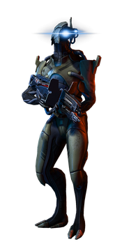 Geth Trooper Soldier by rome123
