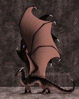Dragon Design Auction #9 [CLOSED] by Trioza