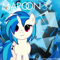 Song Art Maroon 5 This Love (Game-Beatx Remix) by Vaux111