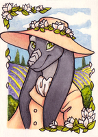 ACEO - Fen for Skyward by Hellypse