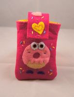 Moshi Monster's Phone Case by VickitoriaEmbroidery