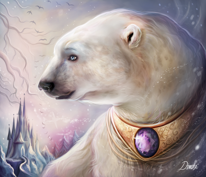 The Polar Bear Prince by Dim-Draws