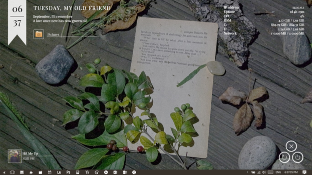 My Desktop: October 2017 by ethan-png