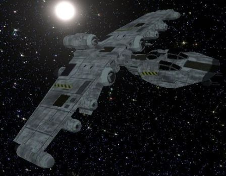 K-Wing Assault Fighter by StarToursTraveler