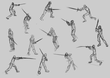 2 handed Long Poses by TimothyWilson