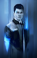 Connor - Detroit Become Human by FallonBeaumont