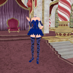 Velvet And Blue Lace Set texture DL by Jadedalicorn
