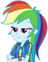 [Vector] Rainbow Dash (Prove it.) by TheBarSection