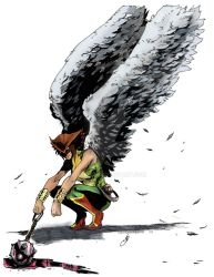 Hawkgirl Colors by Drakelb