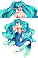 Miku Fish by YanBUNy