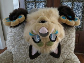 Fossil Feline Partial Sold by SoulBoundFursuits