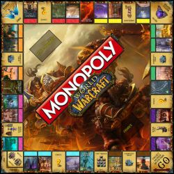 Monopoly World of Warcraft by GunknJunk