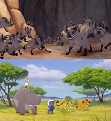 The Lion Guard is Going to Defeat Janja by EmilioKiara