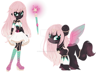 Auction- Pony + EQG (Open) #2 by GihhBloonde