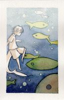 Swimming with the fishes by neinism