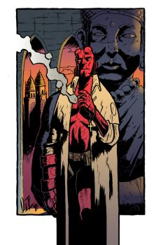 Hellboy Colored by dio-03