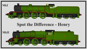 Spot the Difference - Henry MkI and Henry MkII by The-ARC-Minister
