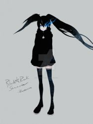 Black Rock Shooter - Winter by Rousteinire