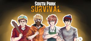 South park survival banner/poster by KatzeLexie