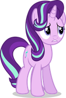 Mlp Fim Starlight Glimmer (unhappy) vector by luckreza8