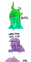 BUTTS by Zicygomar