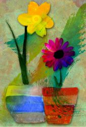 Spring Flowers - Fun rendition by fmr0