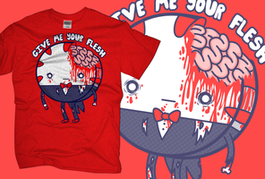 Adventure Time: Peppermint Butler wants Your Flesh by MonochromeMoth