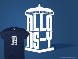 T-Shirt: Allons-y by dontblinktees