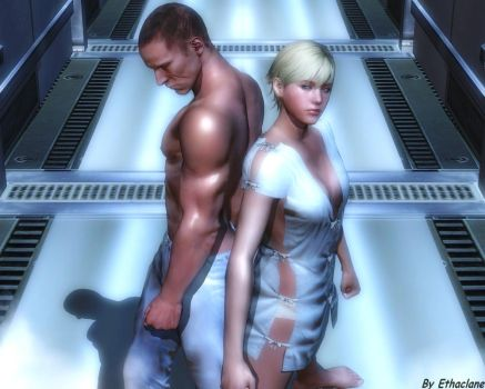 Resident evil wallpaper - Jake and Sherry 5 by ethaclane