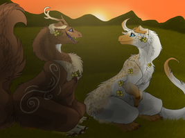 [Gathering] Ladys Evening by BlueTheCaracal